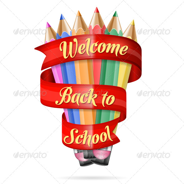 GraphicRiver Welcome Back to School 8582699
