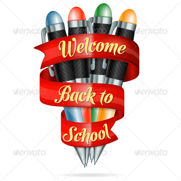 GraphicRiver Welcome Back to School 8582700
