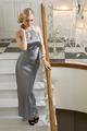 pretty elegant blond on stair - PhotoDune Item for Sale