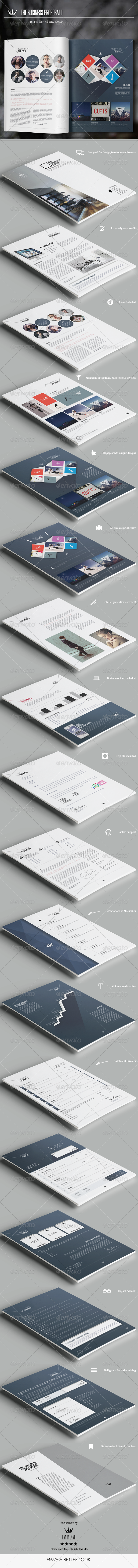GraphicRiver The Business Proposal II 8583016