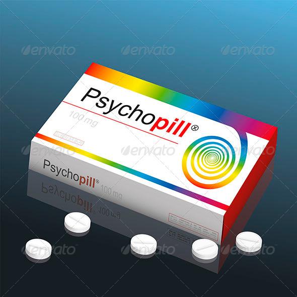 GraphicRiver Psycho Pill 8583838