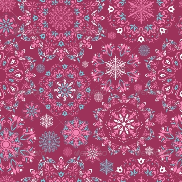 GraphicRiver Vector Christmas Pattern 8583889