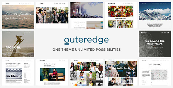 ThemeForest Outeredge Responsive Multi-Purpose Theme 8434570