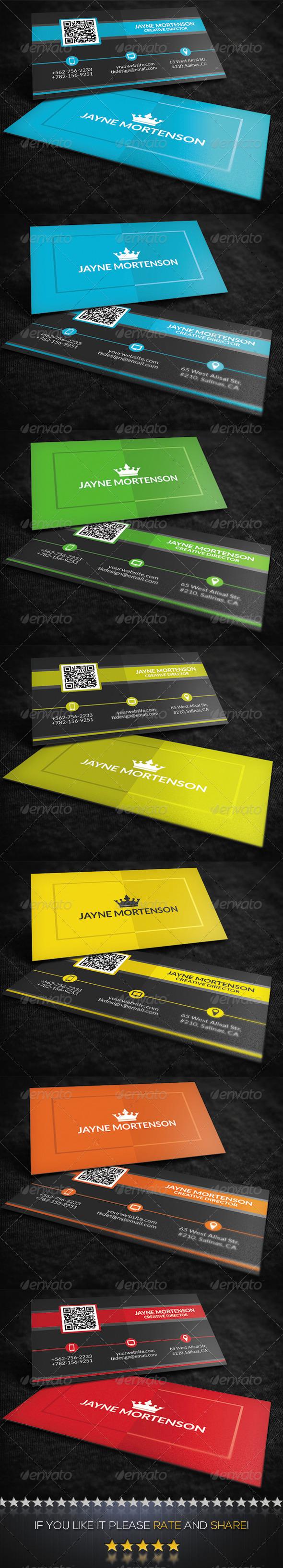 GraphicRiver Multi-Purpose Business Card 8584655