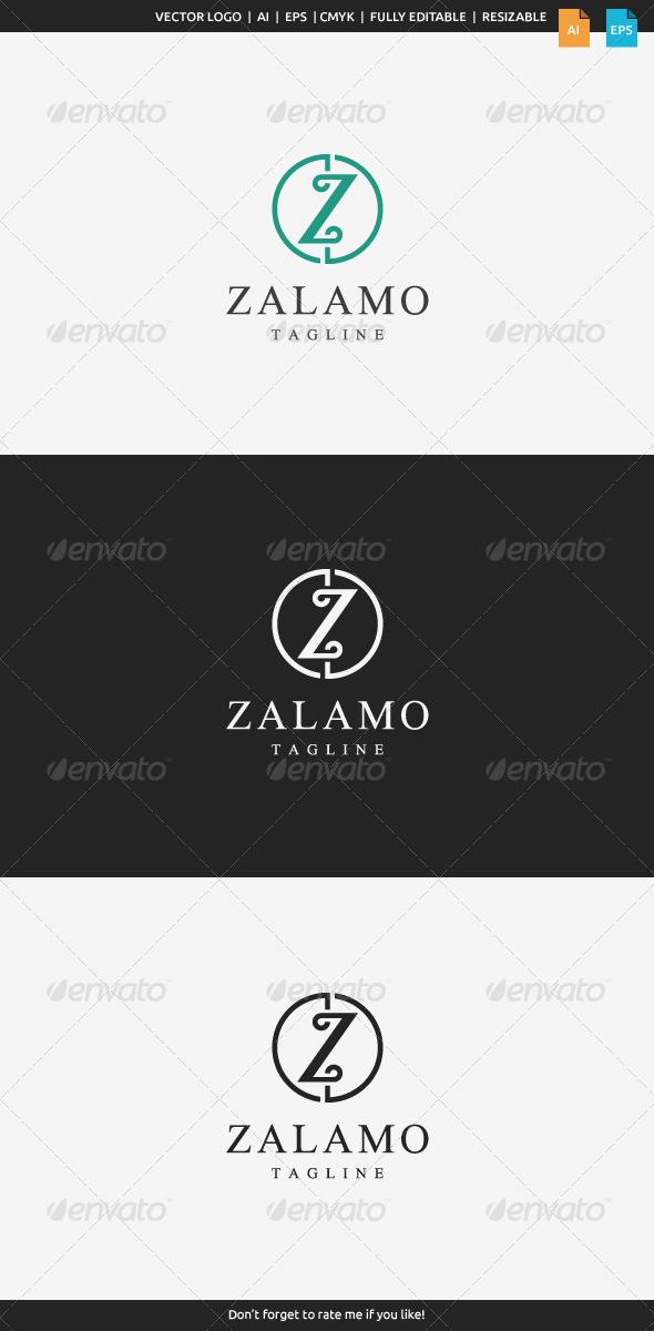 GraphicRiver Zalamo Z Logo 8584657