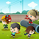Kids playing in the Park - GraphicRiver Item for Sale