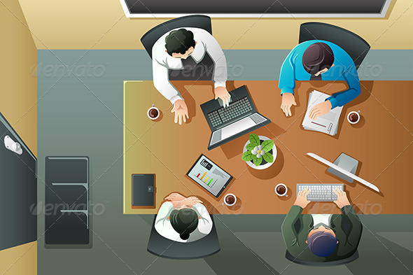 GraphicRiver Business Meeting 8584690