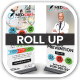 Med Vac Cure Health Care Roll Up Banners - GraphicRiver Item for Sale