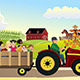 Kids going on a Hayride  - GraphicRiver Item for Sale