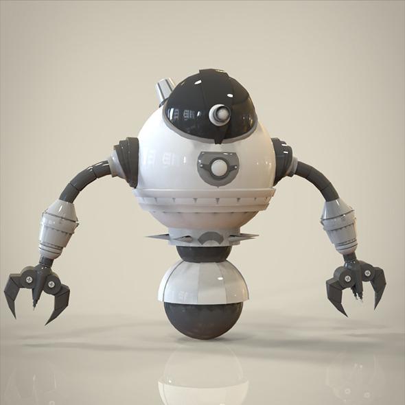 3DOcean robot 8584786