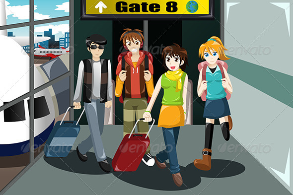 airport gate clipart - photo #16