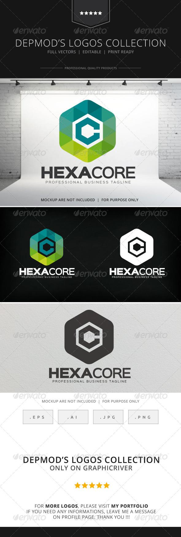 GraphicRiver Hexa Core Logo 8585188
