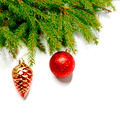 Baubles on fir branch  - PhotoDune Item for Sale