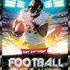 American Football Flyer #2 - GraphicRiver Item for Sale