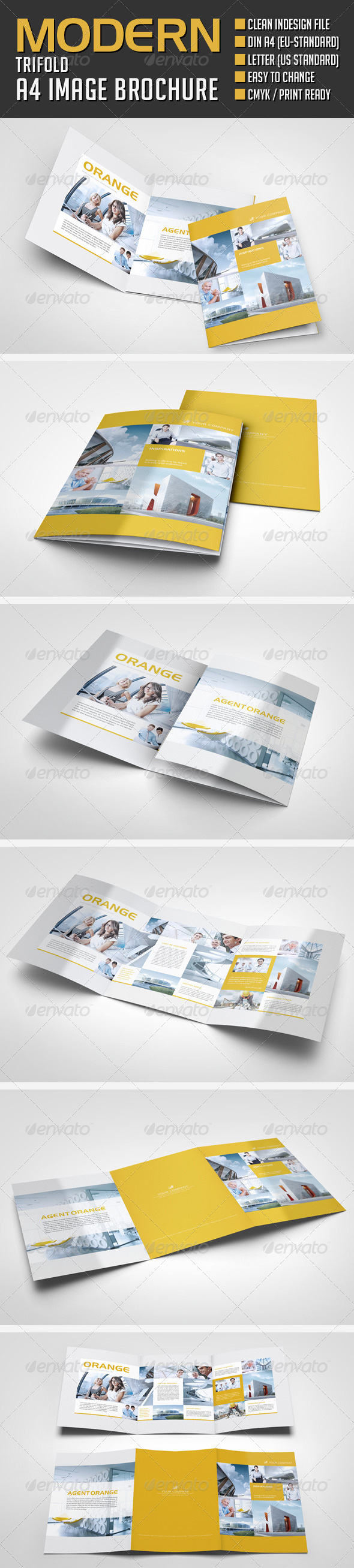 GraphicRiver Modern Image Trifold Brochure 8585279