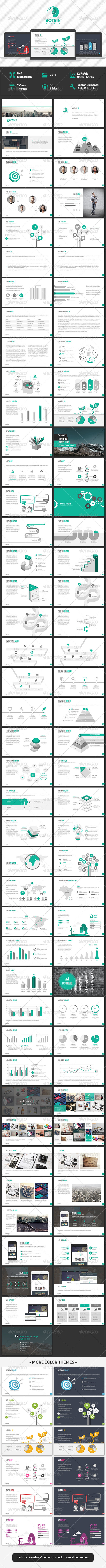 GraphicRiver Botein Powerpoint Template 8585458