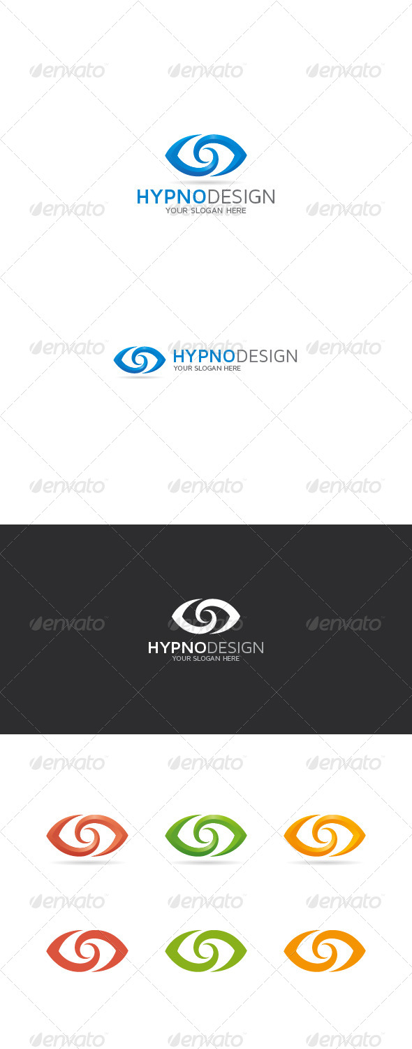GraphicRiver Abstract Eye Logo 8585827
