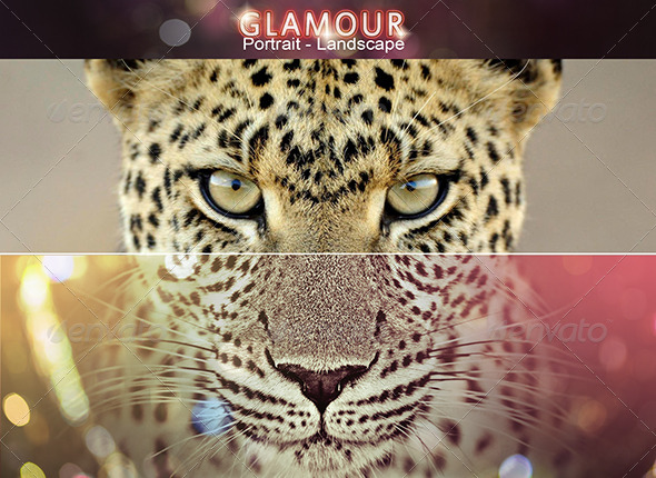 GraphicRiver Vivid Glamour Action Set 8585936