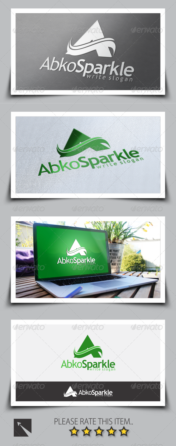 GraphicRiver Letter A Logo Template 8586074