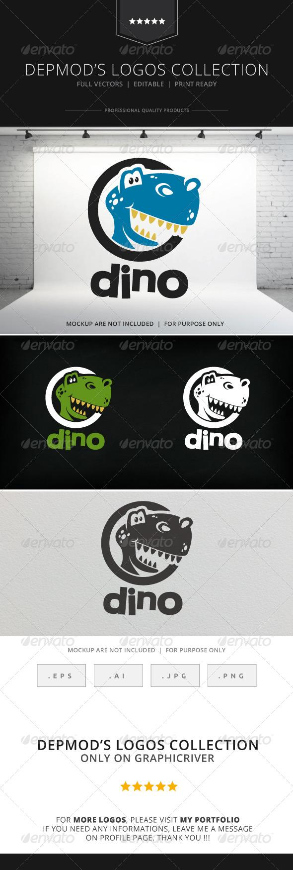 GraphicRiver Dino Logo 8586091