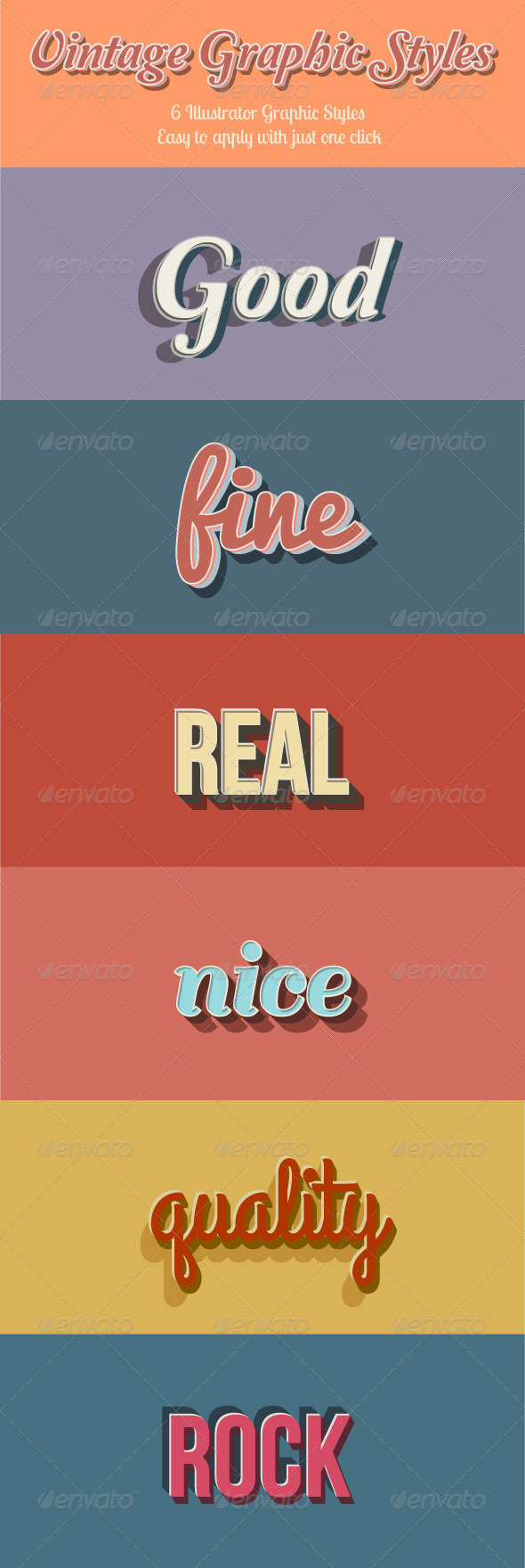GraphicRiver Vintage Graphic Styles 8586146