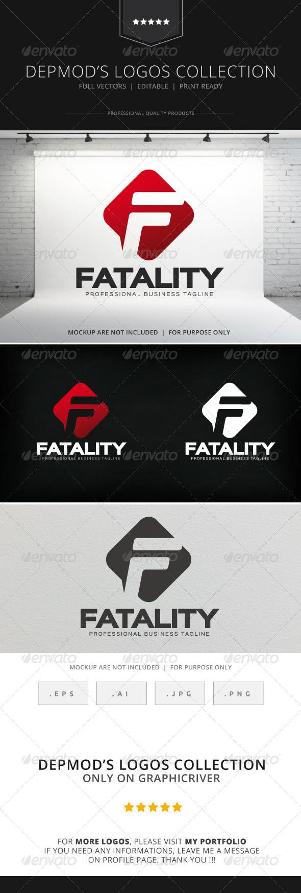 GraphicRiver Fatality Logo 8586229