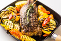 beef steak with grilled vegetables - PhotoDune Item for Sale