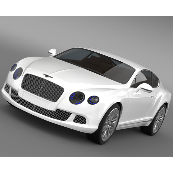 Bentley Continental GT Speed 2012 - 3DOcean Item for Sale
