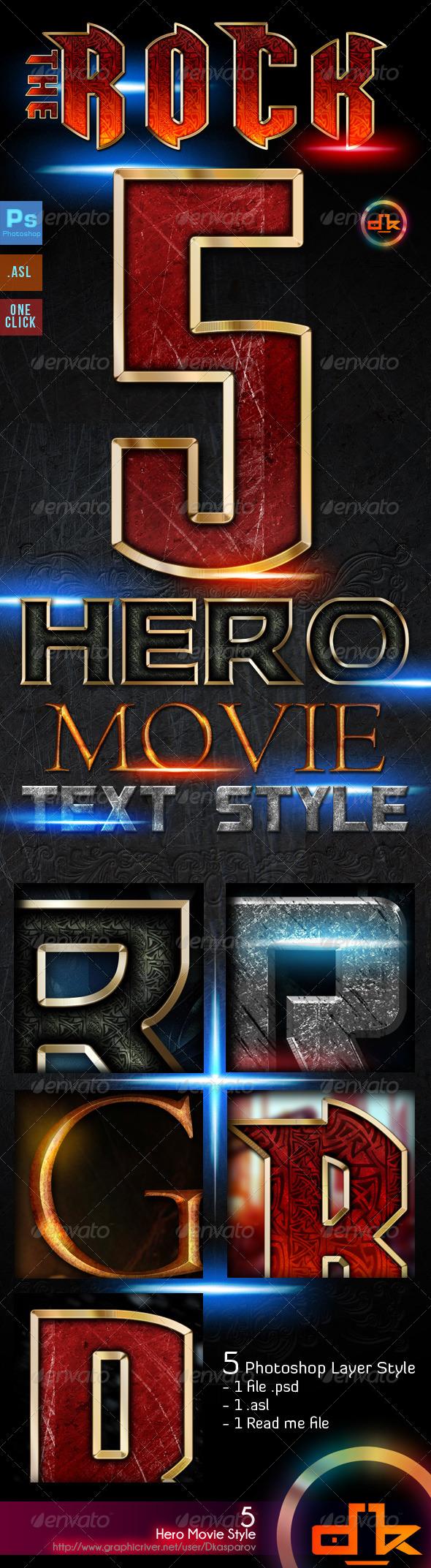 GraphicRiver Hero Movie Style 8587145