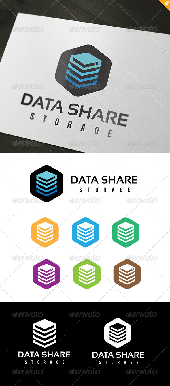 GraphicRiver Data Share Storage 8587177