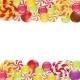 Borders with Candies and Lollipops - GraphicRiver Item for Sale