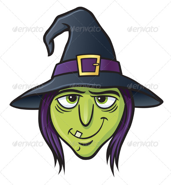 GraphicRiver Witch Face 8587315