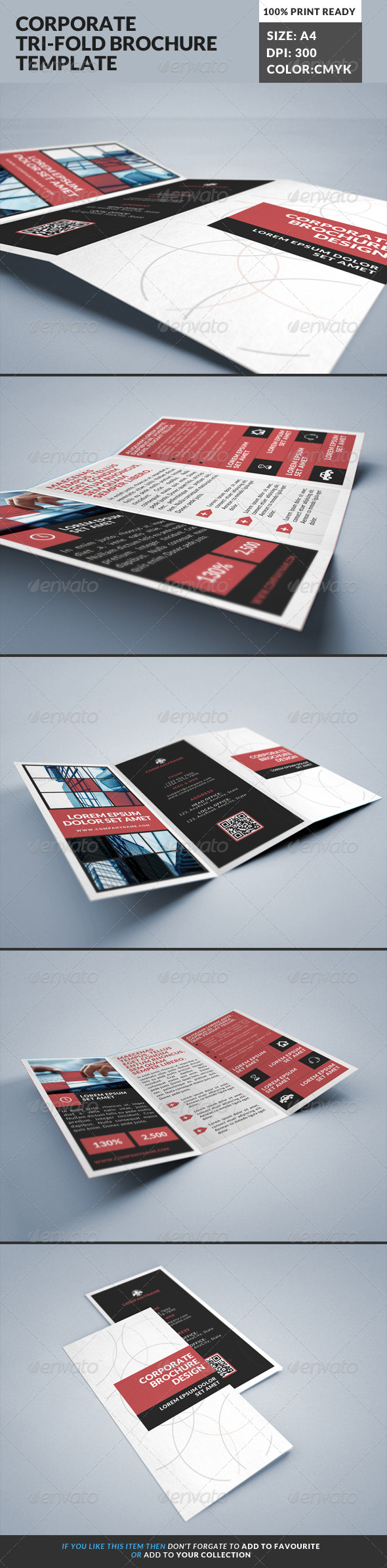 GraphicRiver Corporate Tri-Fold Brochures Template 21 8587544