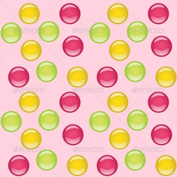 GraphicRiver Candies Seamless Background 8587857