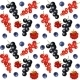 Seamless Background with Berries - GraphicRiver Item for Sale