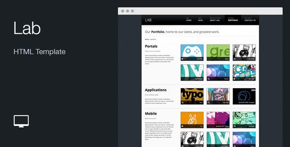 Lab: HTML Template - Portfolio Creative