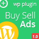 Buy Sell Ads, Wordpress Plugin, Widget - CodeCanyon Item for Sale