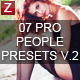 7 Pro People Presets v.2 - GraphicRiver Item for Sale