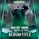 Hip Hop Rap Album Mixtape CD Cover Template - GraphicRiver Item for Sale