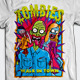 Zombies Walk In Town T-Shirt Design - GraphicRiver Item for Sale