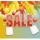 Autumn Sale Concept Vector Illustration - GraphicRiver Item for Sale