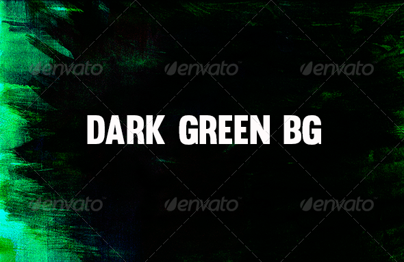 GraphicRiver Dark Green Background 8588556