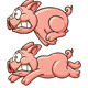 Running Pig - GraphicRiver Item for Sale