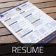 Resume & Cover Letter Template v7 - GraphicRiver Item for Sale
