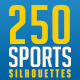 250 Sports Silhuettes - GraphicRiver Item for Sale