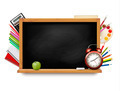 Back to school. Blackboard with school supplies.  - PhotoDune Item for Sale
