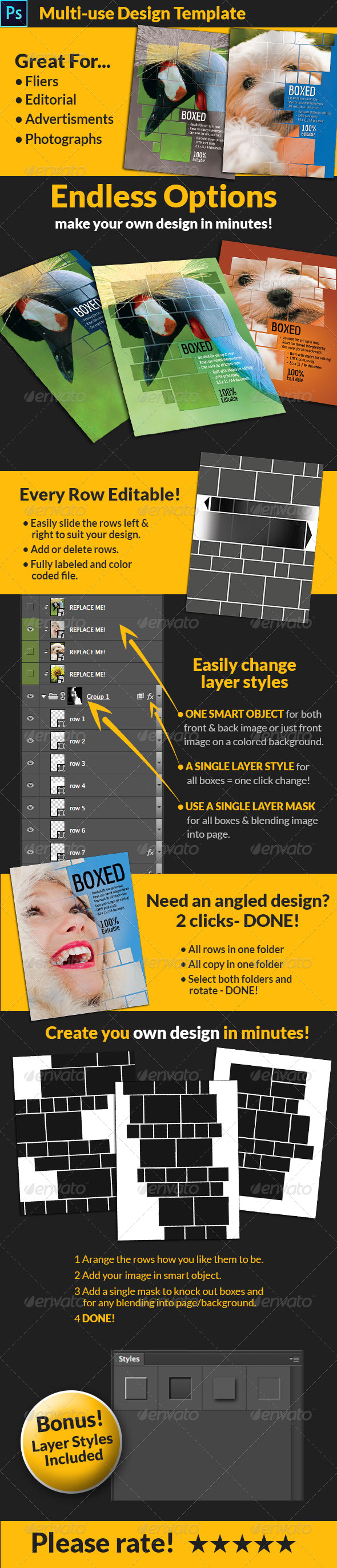 GraphicRiver Multi-use 8.5x11 Design Template 8588865