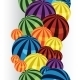 Colorful Balls Border Vertical - GraphicRiver Item for Sale