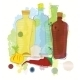 Water Color Bottles Pepper and Onion Vector - GraphicRiver Item for Sale