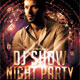 DJ Show Night Party Flyer - GraphicRiver Item for Sale